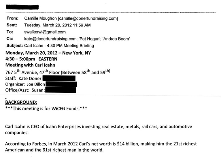 Scott Walker The John Doe Files And How Corporate Cash Influences
