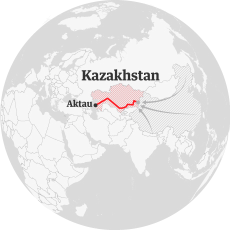 Follow the New Silk Road   Cities   The Guardian on