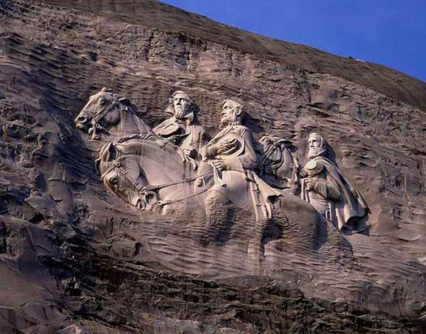 Stone mountain is it time to remove america s biggest