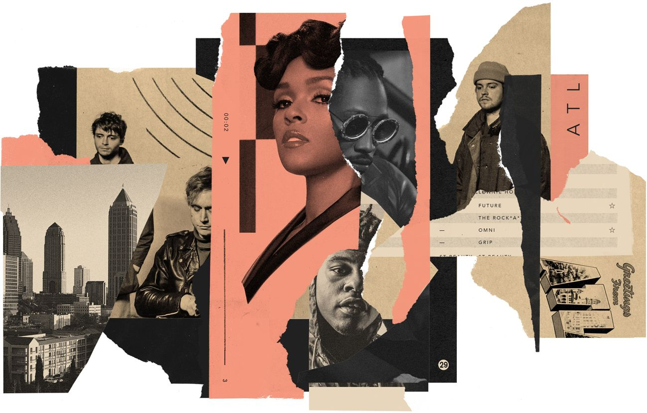 The Sound of Atlanta – music interactive | Cities | The Guardian