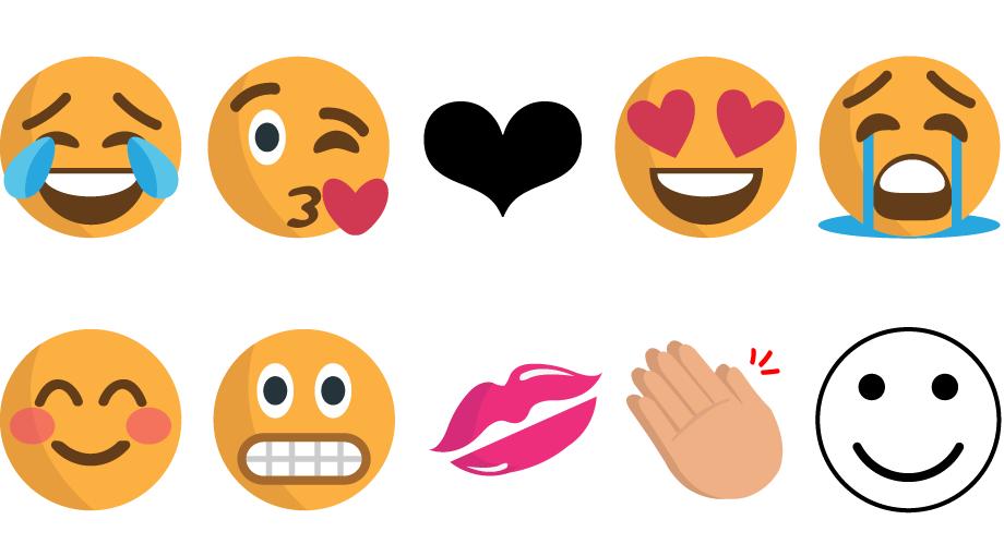 f091f79c0b947 Smile  happy faces are top emoji choice