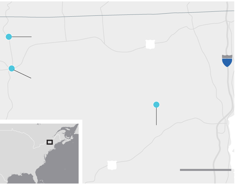 Map Of New York Dannemora.New York Prison Escape Three Week Nightmare Ended In Police Swarm